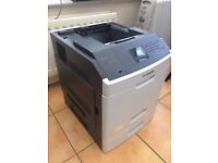 Lexmark MS810DN A4 Mono Laser Printer 66PPM Network USB Printer with consumables rrp £380