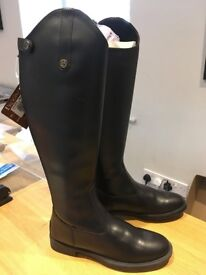 Brand New - Brogini Imperia Long Black Boots Size 40 XW