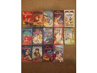 DISNEY CLASSICS VHS BUNDLE