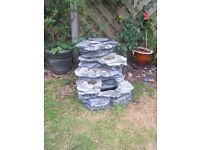 Stone effect Electric Water feature Fountain