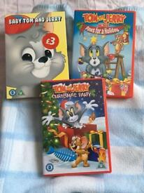Tom and Jerry's dvds