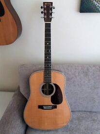 Band new Martin HD28 6 string Acoustic dreadnought.