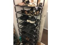URGENT: 2x shoe racks £5 each sold together or separately