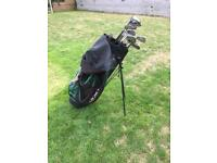 Golf bag plus 14 clubs