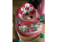 Disney mini mouse baby walker