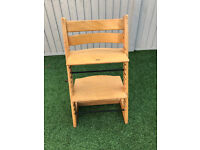 Stokke Tripp Trapp high chair. Live AD = item still available