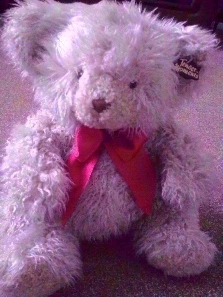 """PMS TENDER MOMENTS CUTE LARGE TEDDY BEAR SOFT TOY 16"""" / 40CM HIGH, NEW WITH TAGS"""