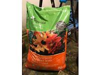 Multi-purpose compost with John Innes - unopened