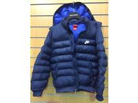 Nike Boys XL size Quilted Jacket.