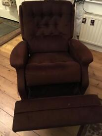 Reclining armchair free