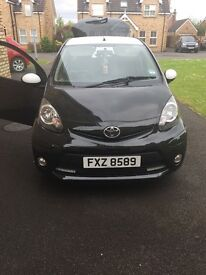 Black Toyota aygo vvti 2014 for sale, 1 owner from new