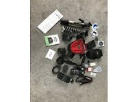 Cannon 500D SLR camera and accessories
