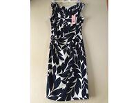 Phase Eight Leaf Print Dress