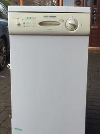 Slimline dishwasher for sale. £50
