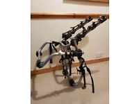 ONLY £20 - Bike Rack - Takes 3 Bikes - Peruzzo Rear-Mounted - Good Condition – Complete