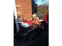 CR85R nice bike big wheel very fast swop electric moped have to be able to pick up from bolton