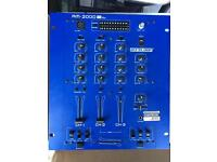 Reloop RM2000 Pro 3 channel mixer with kill switches