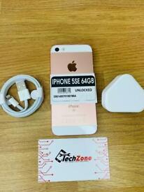 iPhone 5SE 64GB - 3 months shop warranty- Unlocked