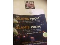 Glamos prom tickets 15th july