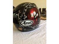 Arai. Viper- gt motor cycled helmet