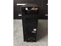 Acer Desktop PC - XC-215 - WIndows 10 - 4GB - 1TB - E2-6110