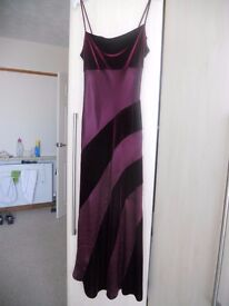 Purple/burgundy dress size 8 from Dorothy Perkins