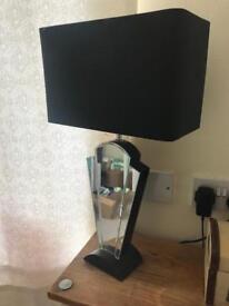 1 x Medium Size Mirrored Lamp