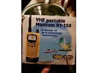 Vhf boat handheld radio
