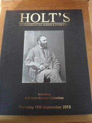 Holts Gun Auctioneers Catalogue 2013 collectors item