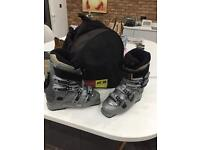 Nordica Ski boots in bag
