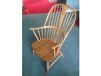Ercol chairmakers chair 911 Winsor chair 472 vintage £200