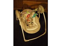 Portable Baby Swing - Hardly used