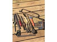 Vice and vintage tool selection