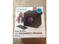 Intempo led Bluetooth soundbox speaker