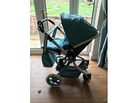 Cosatto ooba duck egg 3-1 travel system with ISO fix base