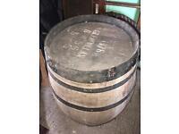 Large barrel table