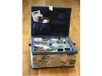 Gorgeous sewing box and kit