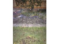 Scottish Slate Tiles - excellent condition 500 in total and 3m of lead flashing