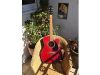 Farida electro/accoustic guitar .