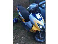 Honda moped (contact 07392298943)
