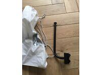 Konig & Meyer microphone holder for stand