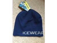 Reversible icewear hat