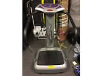 Crazy Fit Massage Vibration Plate - Used - Ready To Collect. Reduced Price