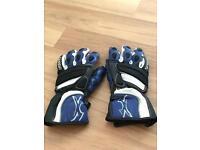 Spada Leather Motorbike Gloves - Medium