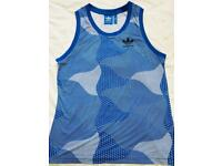 MENS ADIDAS ORIGINALS BLUE VEST *WORN ONCE*