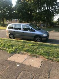 Vauxhall Zafira for swaps for a Van