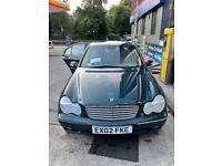 Mercedes-Benz, C CLASS, Saloon, 2002, Semi-Auto, 1998 (cc), 4 doors
