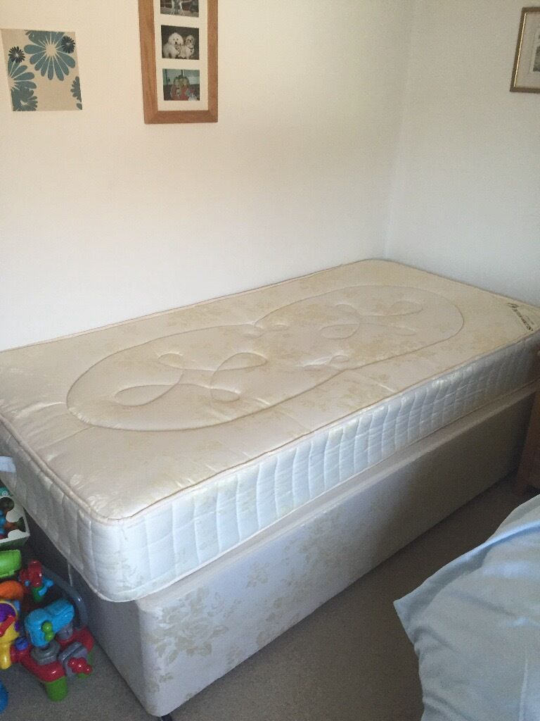 Single bed base and mattress in ferndown dorset gumtree for Single bed base