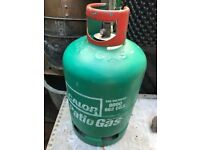 Calor gas bottle for patio heater or bbq vgc 13KG Propane