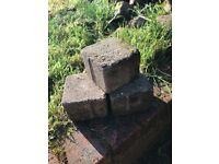 Free grey patio bricks